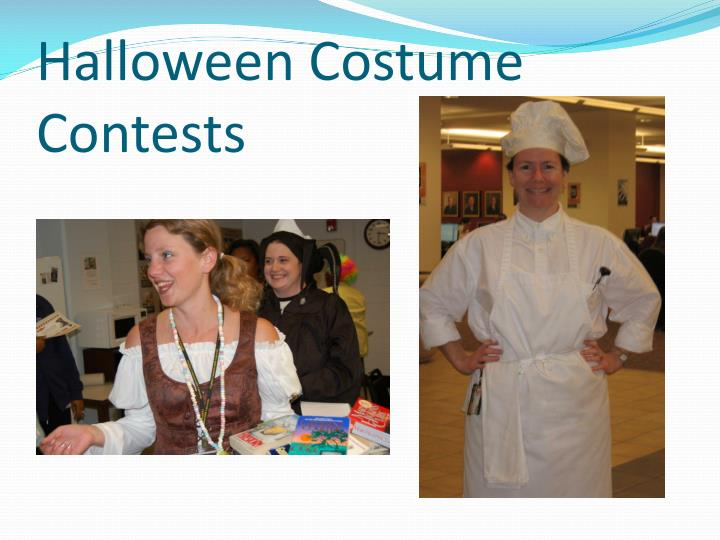 Halloween Costume Contests
