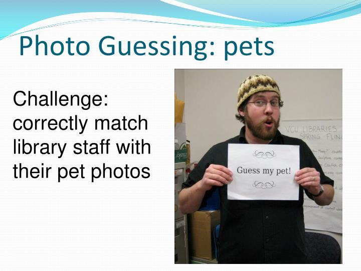 Photo Guessing: pets