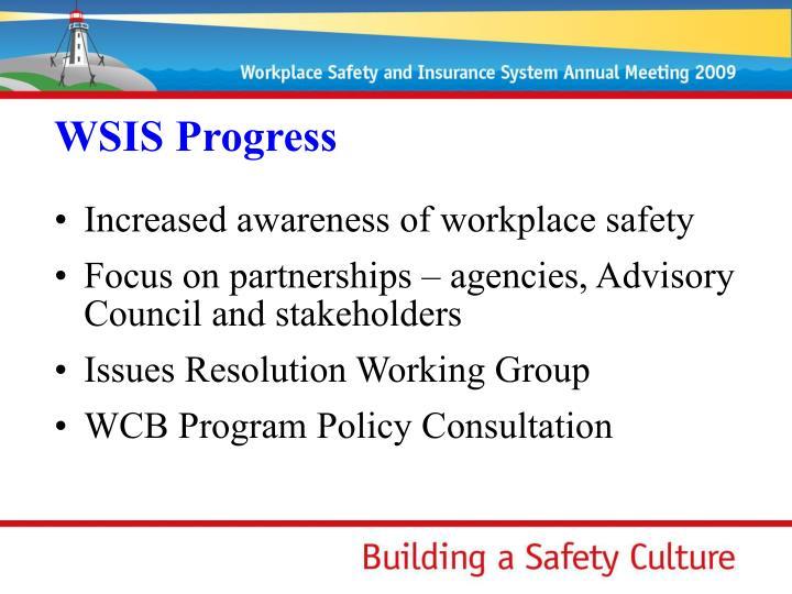 WSIS Progress