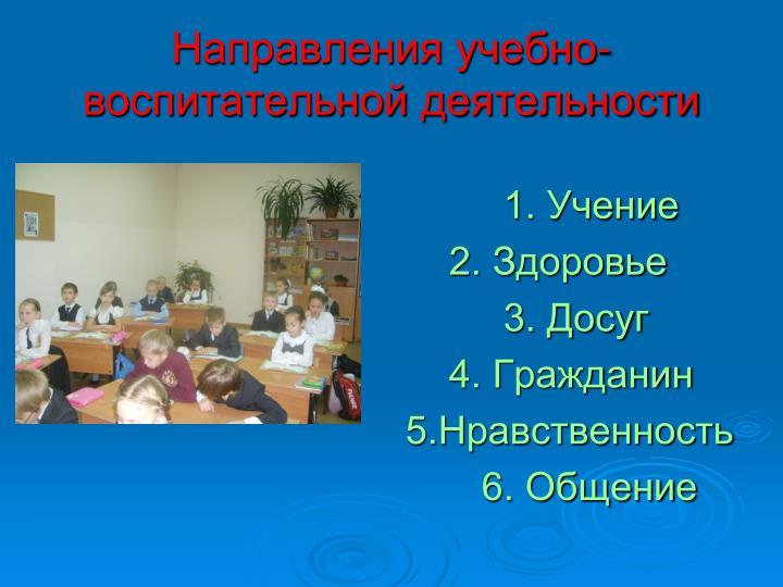 1. Учение