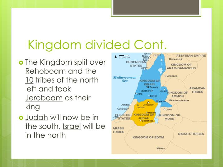 Kingdom divided Cont.