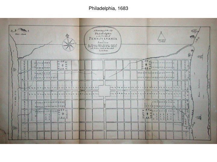 Philadelphia, 1683