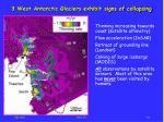 3 west antarctic glaciers exhibit signs of collapsing
