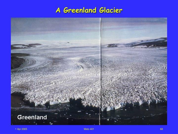 A Greenland Glacier