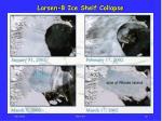 larsen b ice shelf collapse