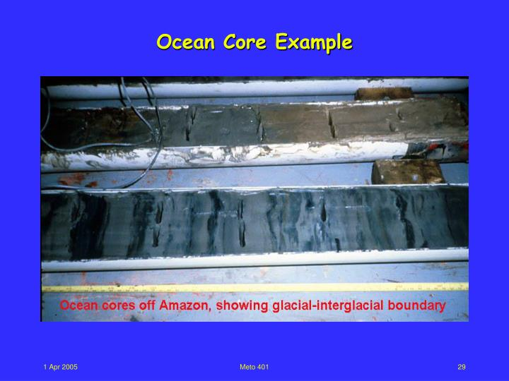 Ocean Core Example