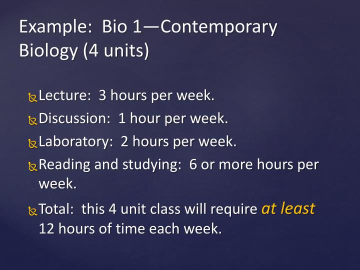 Lecture:  3 hours per week.