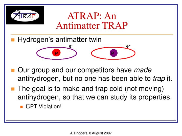 Atrap an antimatter trap