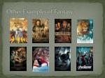 other examples of fantasy
