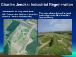 charles jencks industrial regeneration