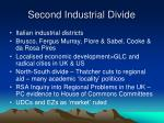 second industrial divide