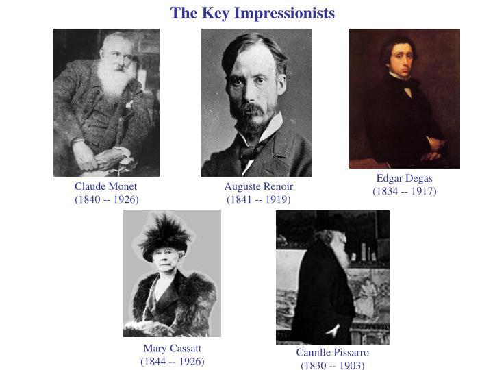 The Key Impressionists