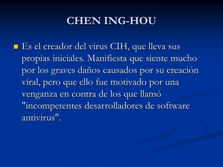 CHEN ING-HOU