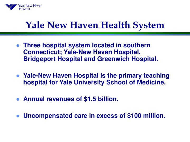 Yale new haven health system