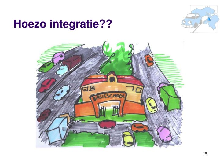 Hoezo integratie??
