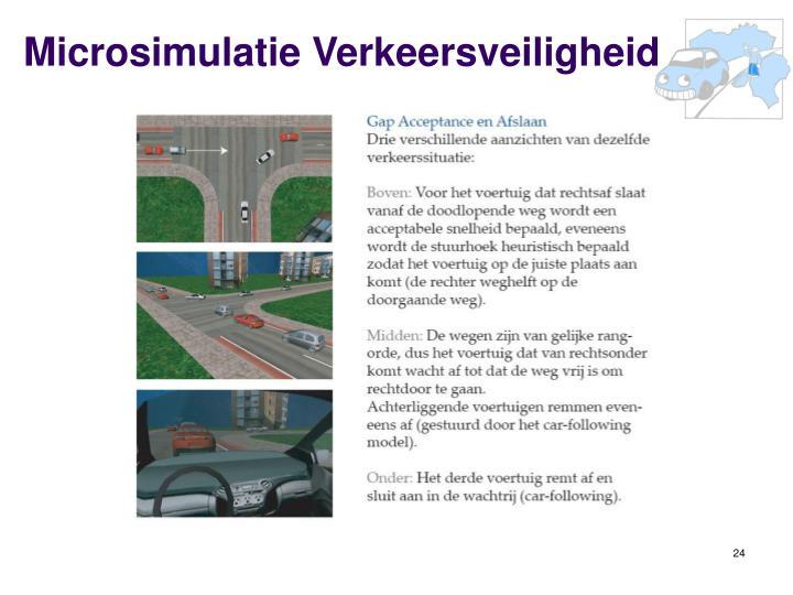Microsimulatie Verkeersveiligheid