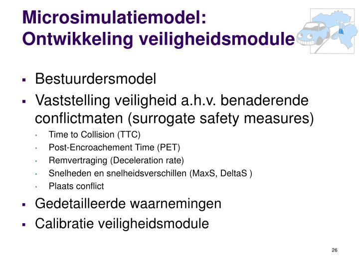Microsimulatiemodel: