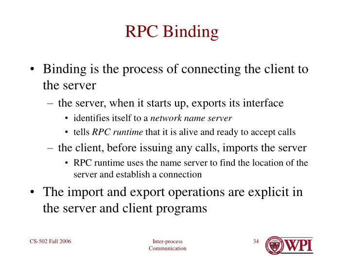 RPC Binding
