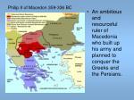 philip ii of macedon 359 336 bc