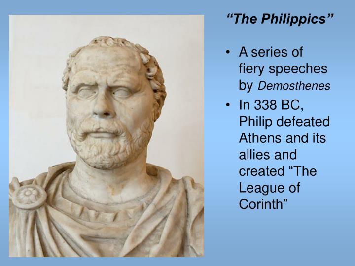 """""""The Philippics"""""""