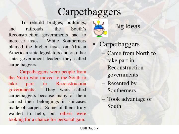 Carpetbaggers