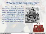 who were the carpetbaggers