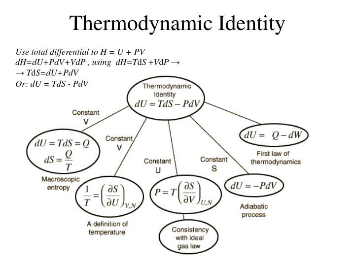 Thermodynamic Identity