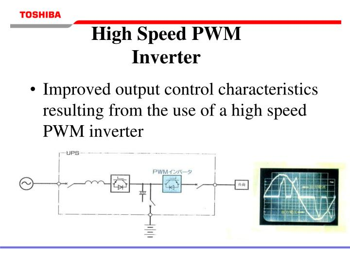 High Speed PWM Inverter