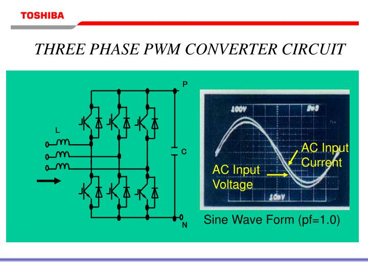 THREE PHASE PWM CONVERTER CIRCUIT