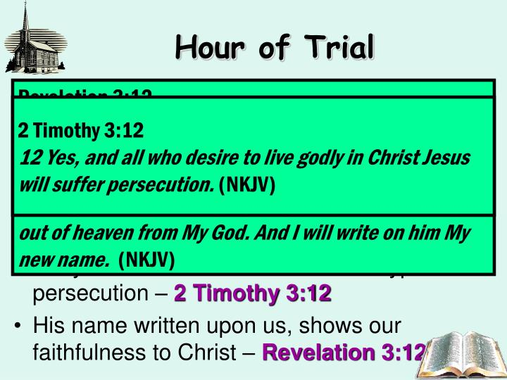 Hour of Trial