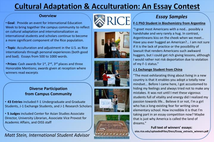 my immigrant experience essay Top 5 college application essay clichés college admissions a survey of our students has revealed that one of the most feared and most difficult parts of the college application process is the college admission essay.