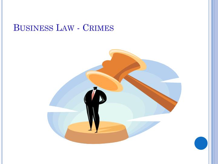 Business law crimes
