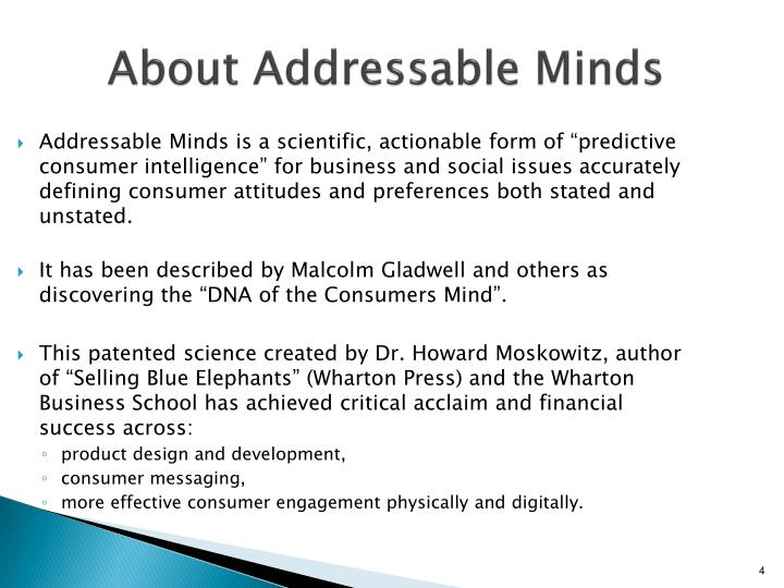 About Addressable Minds