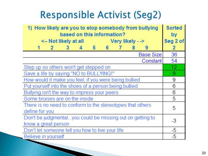 Responsible Activist (Seg2)