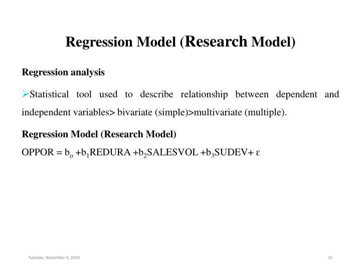 Regression Model (