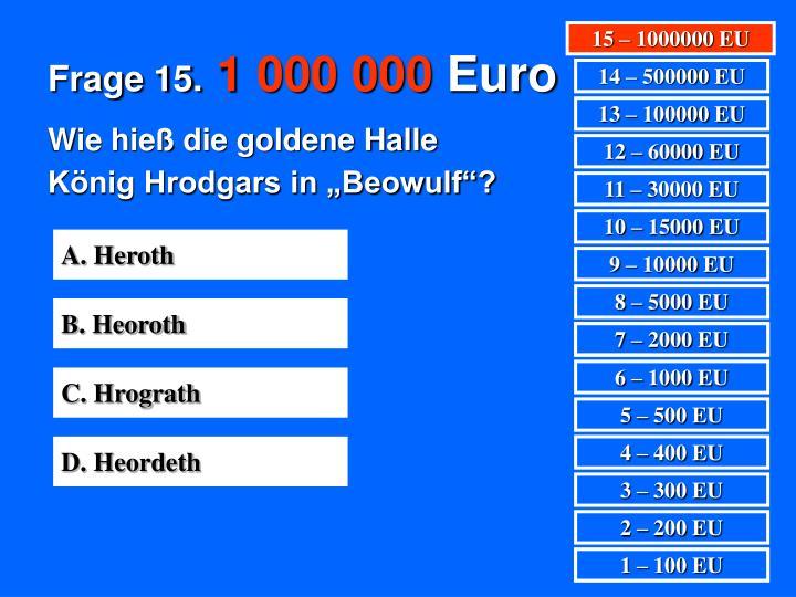 Frage 15.