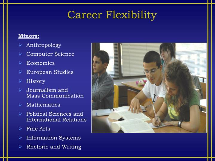 Career Flexibility