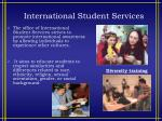 international student services