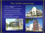 the aubg advantage
