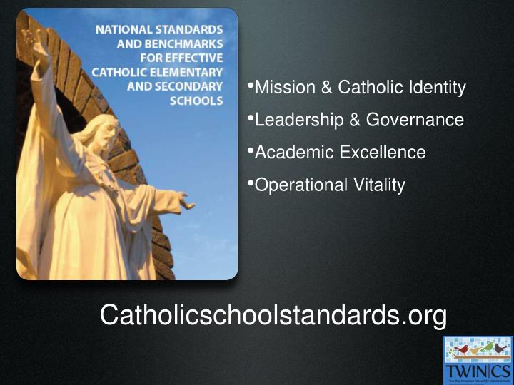 Mission & Catholic Identity