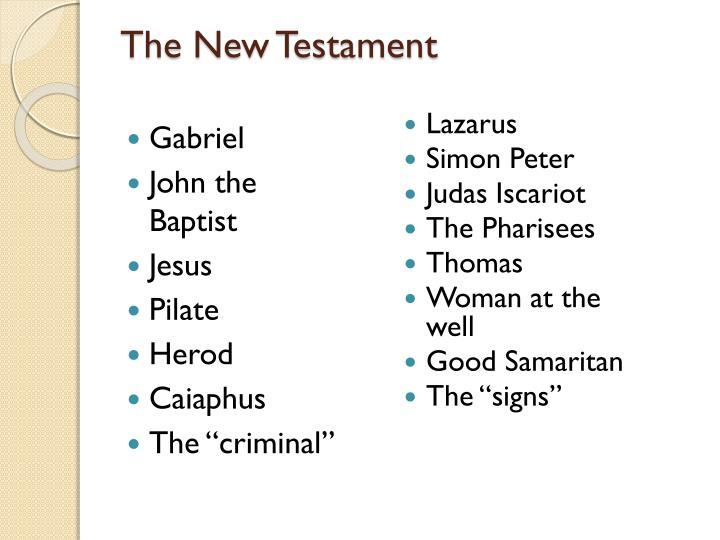 The New Testament