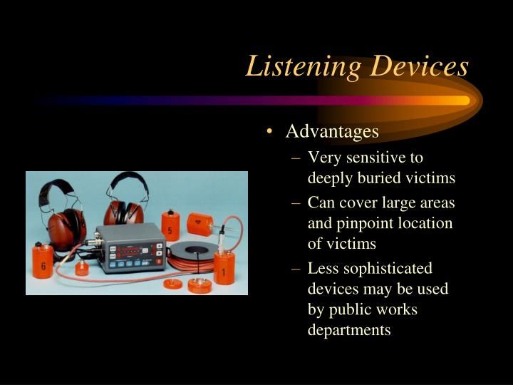 Listening Devices