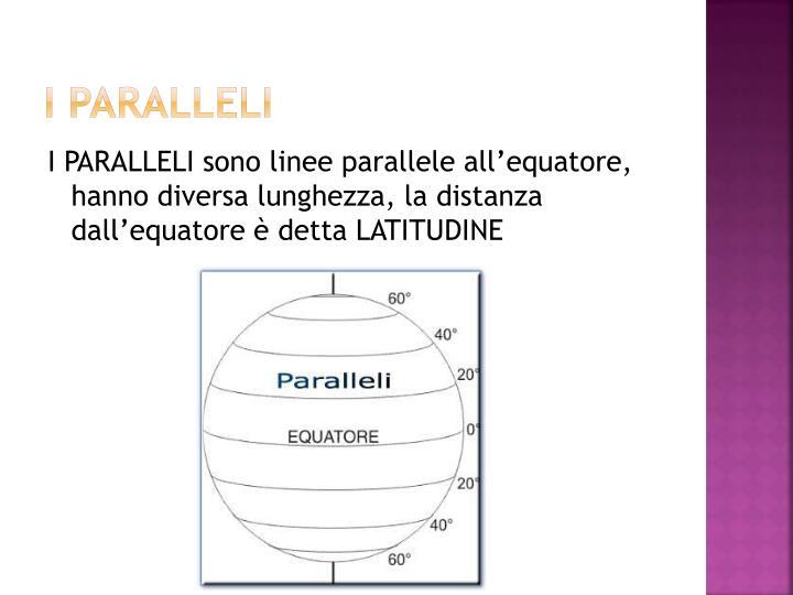 I PARALLELI