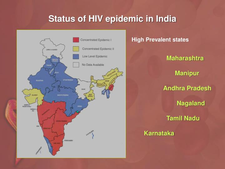 Status of HIV epidemic in India