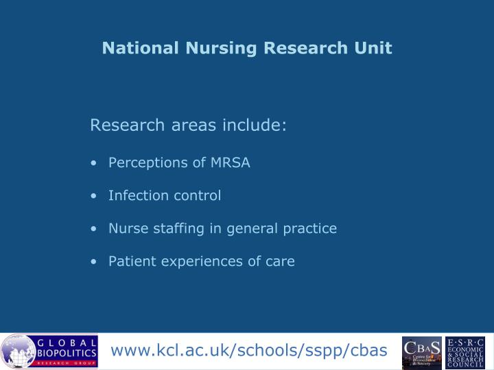 National Nursing Research Unit