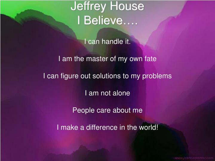 Jeffrey House