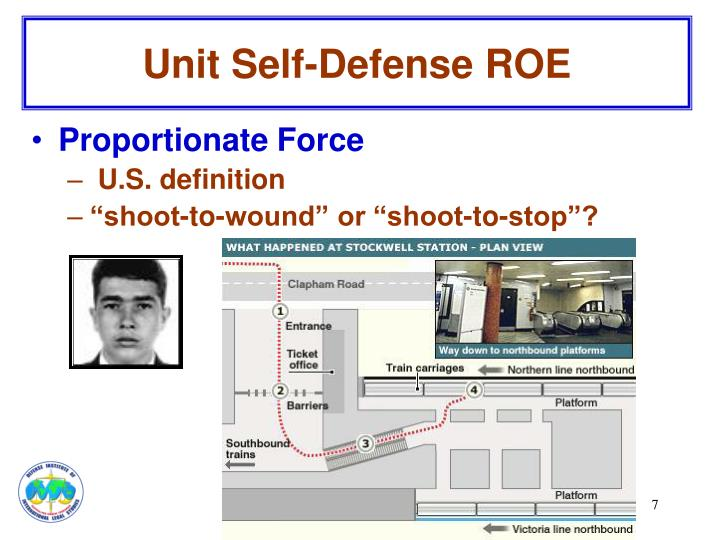 Unit Self-Defense ROE