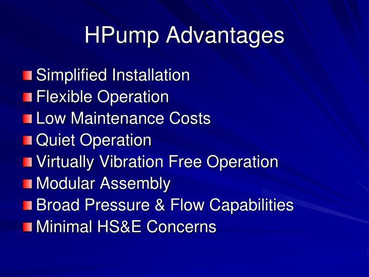 HPump Advantages