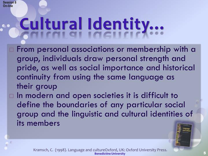 cultural identity personal essay