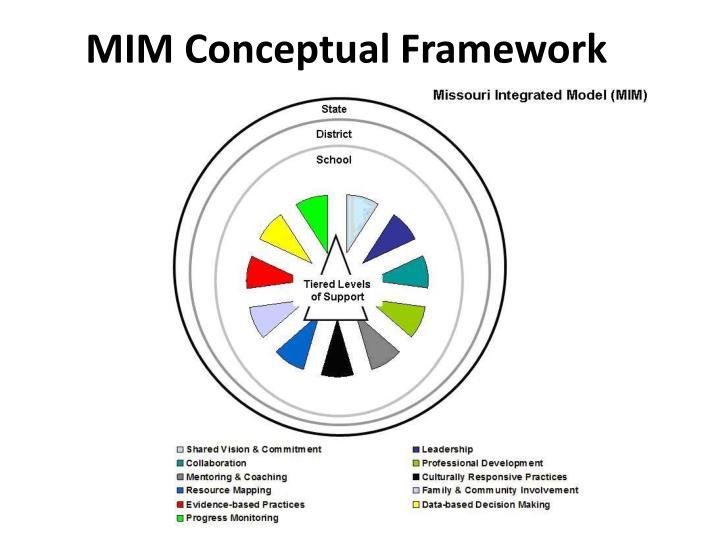 MIM Conceptual Framework